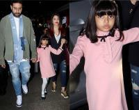 बेटी और पति संग छुट्टियां मनाकर मुंबई लौटीं ऐश्वर्या, आराध्या का दिखा क्यूट अंदाज