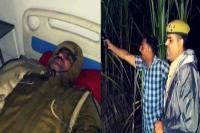 UP में 'ठांय-ठांय' से फेमस इंस्पेक्टर मनोज कुमार घायल, अस्पताल में भर्ती