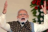 कर्जमाफी के नाम पर कांग्रेस झूठ बोल रही है: मोदी