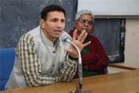 उच्चशिक्षा मंत्री ने नूतन कॉलेज का किया निरीक्षण