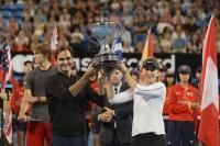 रोजर फेडरर ने जर्मनी के खिलाड़ी को हराकर जीता हॉपमैन कप