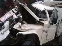 दर्दनाक हादसा : श्रद्धालुओं से भरी पिकअप की ट्रक के साथ हुई टक्कर, 1 की मौत- दर्जन घायल