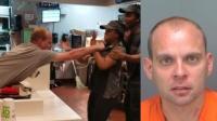 ग्राहक ने मैकडोनाल्ड की महिला कर्मचारी का कर दिया बुरा हाल, देखें वीडियो