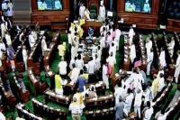 संसद में विपक्षी दलों का हंगामा, राज्यसभा 2 बजे तक स्थगित