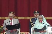शेख हसीना ने लगातार चौथी बार ली बांग्लादेश के प्रधानमंत्री पद की शपथ