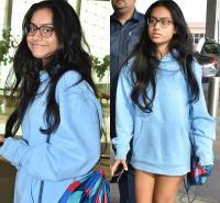 कपड़ों की वजह से ट्रोल हुईं काजोल-अजय की बेटी, यूजर्स बोले-ये पैंट पहनना भूल गई