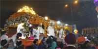 श्री गुरु गोबिंद सिंह जी के प्रकाश पर्व की धूम,दिल्ली में निकला विशाल नगर कीर्तन