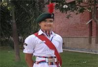 69वें गणतन्त्र दिवस पर होने वाली परेड में हर्षवर्धन सिंह नेतृत्व