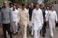 चंद्रबाबू ने राहुल से मुलाकात की, विपक्षी एकता की रणनीति पर चर्चा की