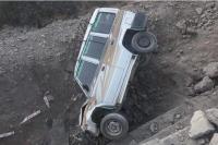 हादसे का शिकार हुई दिल्ली से टिहरी आ रही टाटा सूमो कार, 7 लोग घायल