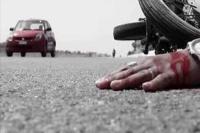 सड़क दुर्घटना में एक घायल