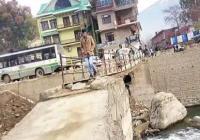 इस पुल पर सफर करना हुआ खतरनाक, हादसे की बनी आशंका