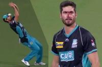 Video: कैच लेने के चक्कर में माथे पर लगी गेंद, खून निकलता देख सहमे साथी खिलाड़ी