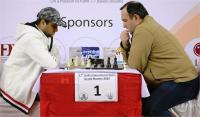 दिल्ली इंटरनेशनल शतरंज - गिरीश नें टॉप सीड फारुख को ड्रॉ पर रोका