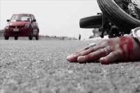 अज्ञात वाहन की टक्कर से युवक की जान गई