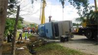 क्यूबा में बस पलटने से 7 लोगों की मौत, 33 घायल