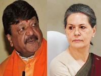 MP की राजनीति में जारी है ट्विटर वॉर, कैलाश ने किया सोनिया गांधी पर हमला