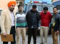जिला फतेहगढ़ साहिब के तीन युवक हैरोइन सहित गिरफ्तार