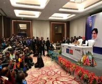 योगी के मंत्री का बड़ा बयान, कहा- SP-BSP गठबंधन बनाए जाने का मकसद सिर्फ अपने पापों को छुपाना