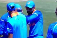 सिडनी वनडे में कोहली ने दिखाए डांस मूव,देखें Video