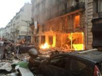 पेरिसः बेकरी में विस्फोट से 36 लोग घायल