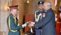 नेपाल आर्मी चीफ थापा 'भारतीय सेना जनरल' की मानद पदवी से सम्मानित