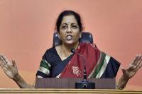 अपने नेता को मर्यादा का पाठ पढ़ाए कांग्रेस: सीतारमण