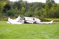 पूर्वी जर्मनी में विमान दुर्घटनाग्रस्त, 2 लोगों की मौत