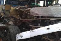 उत्तराखंडकेयात्रियों से भरीटूरिस्टबस बिहार में हुई दुर्घटनासग्रस्त, चालक कीमौत, अन्य 20 घायल