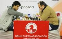 दिल्ली इंटरनेशनल शतरंज - देबाशीष - ओमानतोव नें खेला ड्रॉ सयुंक्त बढ़त पर बरकरार