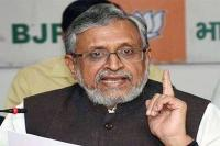 PM Modi और नीतीश कुमार के चेहरे की डबल क्रेडिट पर चुनाव लड़ेगा राजग: सुशील मोदी