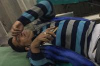 पुड्डा कम्पलैक्स में बैंक के बाहर चली गोली, फोटोग्राफर घायल