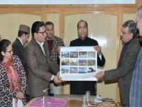CM ने पर्यटन विभाग की वैबसाइट व कैलेंडर जारी करने के बाद अधिकारियों को दिए निर्देश