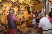 अमित शाह ने की जगन्नाथ मंदिर में पूजा-अर्चना
