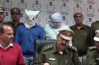 2 लाख के इनामी बदमाश धरे गए तो आठ हत्याकांडों का हुआ खुलासा (VIDEO)