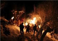 लाहौल घाटी में मशाल जलाकर भगाए भूत-प्रेत