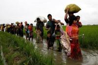 भारत से 1300 रोहिंग्या मुसलमान बांग्लादेश आए : अधिकारी