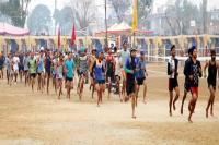 सेना भर्ती के 5वें दिन 3363 युवाओं ने बहाया पसीना, 683 हुए दौड़ में पास