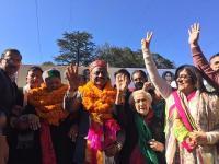 प्रदेश कांग्रेस कुलदीप राठौर की ताजपोशी पर उमड़ा जनसैलाब, सुक्खू रहे Absent