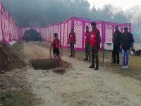 सेना भर्ती के 6वें दिन 2570 युवाओं ने बहाया पसीना, 3149 हुए दौड़ में पास(Video)