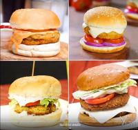 घर पर बनाए चार तरह के बर्गर-बच्चों को करें खुश