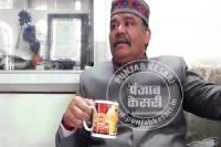 श्री गुरु ग्रंथ साहिब की तस्वीर वाले कप में चाय पीकर बुरी तरह फंसे सांपला
