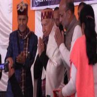 शांता की वीरभद्र को सलाह, बोले- टूटे-फूटे दल नहीं कर सकते BJP का मुकाबला(VIdeo)