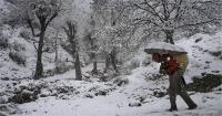 जम्मू कश्मीर में ऊंचाई वाले स्थानों पर बर्फबारी, मैदानी इलाकों में हुई झमझम बारिश
