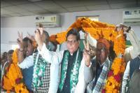 पूर्व मंत्री वीरेन्द्र प्रसाद कुशवाहा और युवा रालोसपा राष्ट्रीय अध्यक्ष रामपुकार सिंह JDU में हुए शा