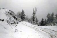 कुल्लू जिला के ऊपरी इलाकों में बर्फबारी का दौर शुरू, तापमान में भारी गिरावट दर्ज