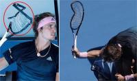 AusOpen: हार से झल्लाए टेनिस खिलाड़ी ने पटक-पटक कर तोड़ा रैकेट, कहा- दिल को मिला सुकून