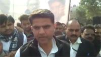 किसानों के धरना प्रदर्शन में पहुंचे सचिन पायलट, कहा-BJP सरकार नींद से बाहर आकर करे समस्या का समाधान