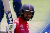 नेपाल के पहले शतकवीर बने पारस खड़का, यूएई से जीती वनडे सीरीज