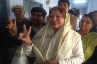 जयपुर: रामगढ़ सीट से शफिया जुबैर जीती, 200 सीटों वाली विधानसभा में कांग्रेस की सेंचुरी